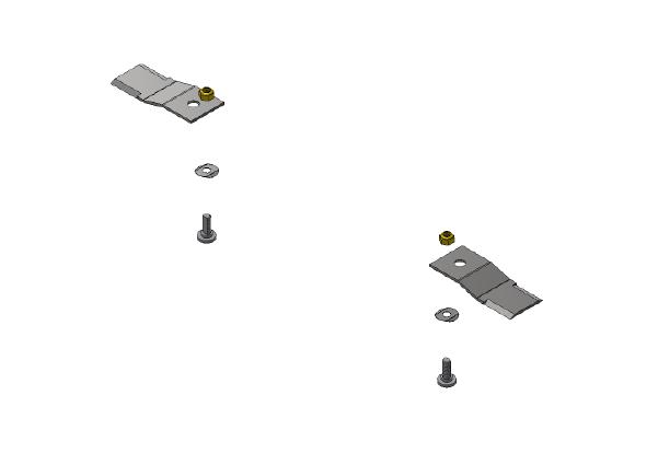 Flail Blade Kit - 123mm Long
